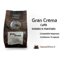Capsule Compatibili Nespresso Caffè Gran Crema