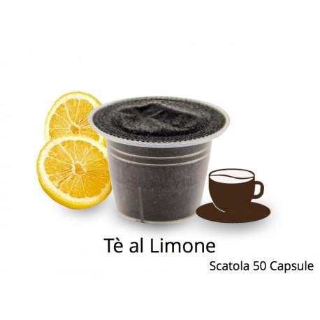 Capsule Compatibili Nespresso Tè al Limone CapsuleStore.it