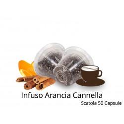Capsule Compatibili Nespresso Infuso Arancia Cannella