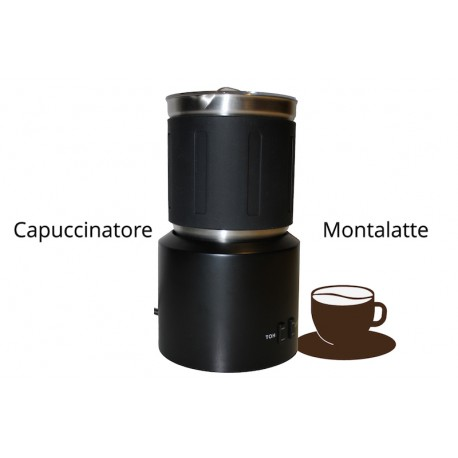 Cappuccinatore/Montalatte Nero CapsuleStore.it