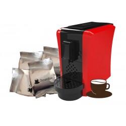 Capsule Caffè & Macchina Morgana Rossa