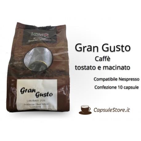 Compatibili Nespresso Caffè Gran Gusto 10 Capsule