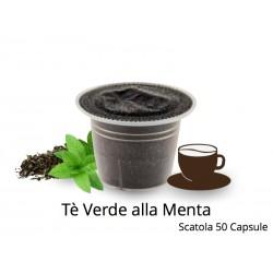 Capsule Compatibili Nespresso Tè Verde alla Menta CapsuleStore.it