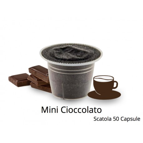 Capsule Compatibili Nespresso Mini Cioccolato CapsuleStore.it