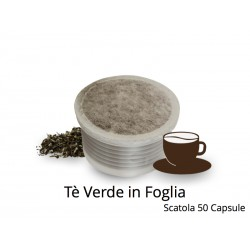 Capsule Compatibili Lavazza Point Tè Verde in Foglia